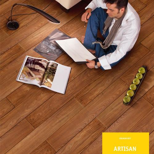 Ламинат Tarkett artisan 933 тик луксор современный арт. 504002017