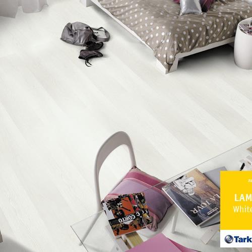 Ламинат Tarkett lamin'art 832 белый шик арт. 8342240