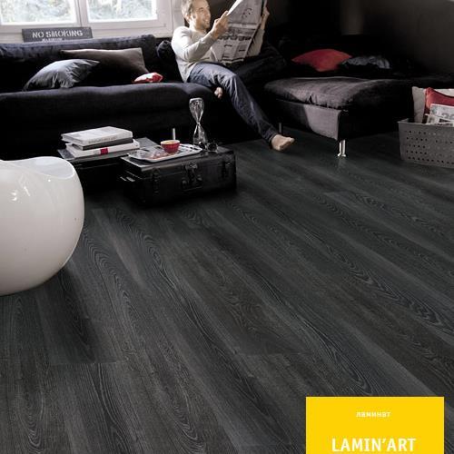 Ламинат Tarkett lamin'art 832 черный шик арт. 8342239